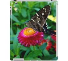 Butterfly on Flower iPad Case/Skin