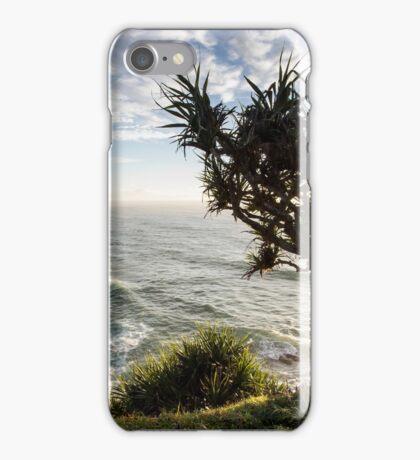 Pandanus Holding On - Skennar's Head iPhone Case/Skin
