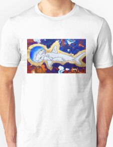 Shark in Space  Unisex T-Shirt