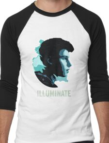 SM Illuminate Men's Baseball ¾ T-Shirt