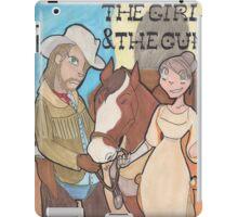 The Girl & the Gun iPad Case/Skin
