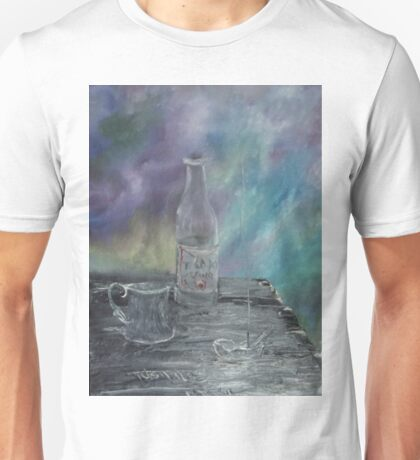 Still Life - Wine, goblet, smoke Unisex T-Shirt