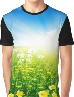 Wildflowers Graphic T-Shirt