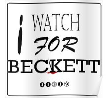 I WATCH FOR BECKETT Poster
