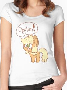 Apples!! Women's Fitted Scoop T-Shirt