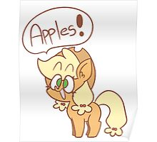 Apples!! Poster