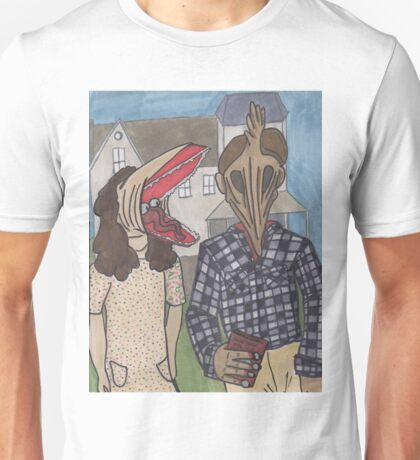 The Maitlands - Beetlejuice - American Gothic Unisex T-Shirt