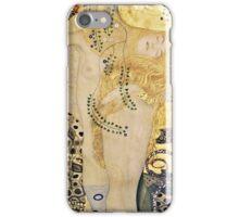 Gustav Klimt - Water Serpents I, 1907  iPhone Case/Skin
