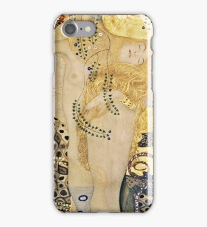Gustav Klimt - Water Serpents I, 1907  iPhone Case/Skin