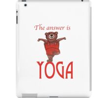 The answer is YOGA iPad Case/Skin