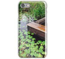 Nostalgic pond iPhone Case/Skin