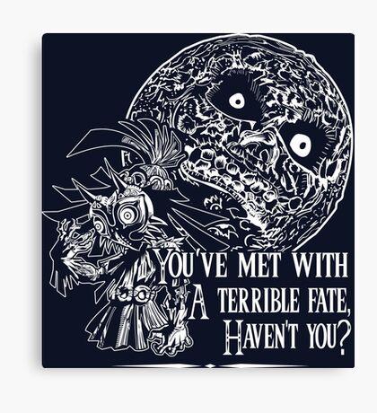 Terrible Fate Canvas Print