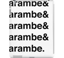 Harambe Helvetica  iPad Case/Skin