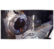 Klance in Spacestation Poster