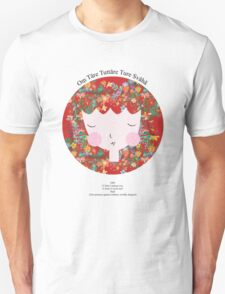 Oṃ Tāre Tuttāre Ture Svāhā - Buddhist Mediation Mantra - Zen Girl Series Unisex T-Shirt