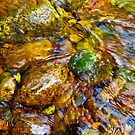 Gore Creek Abstract 26 by AlexandraZloto