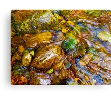 Gore Creek Abstract 26 Canvas Print
