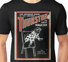 Performing Arts Posters Thurston the great magician the wonder show of the universe 0269 Unisex T-Shirt