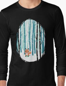 Fox in the Forest Long Sleeve T-Shirt