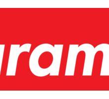 HARAMBE SUPREME BOX LOGO Sticker