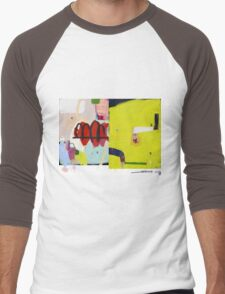 Abstract talk 015 Men's Baseball ¾ T-Shirt