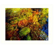Gore Creek Abstract 21 Art Print