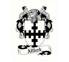 Affleck Art Print