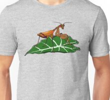 Brown Asian Mantis Unisex T-Shirt