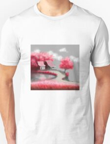 Asian Countryside Unisex T-Shirt