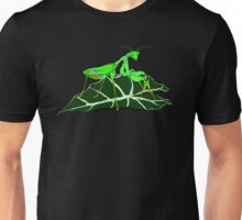 Green Asian Praying Mantis Unisex T-Shirt