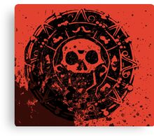 The Medallion Calls(Red) Canvas Print