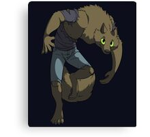A Werewolf Appears! Canvas Print
