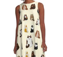 Fat Cats  A-Line Dress
