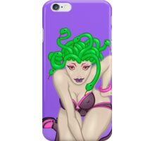 Medusa - a naughty classic greek monster pinup! iPhone Case/Skin