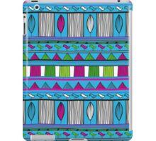 Tribal - Blue, Pink, Green  iPad Case/Skin