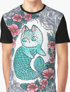 Mermaid kitty  Graphic T-Shirt
