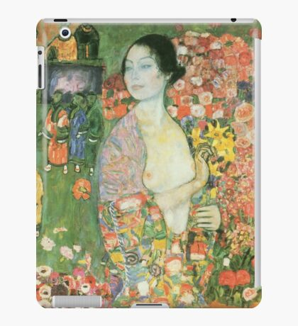 Gustav Klimt - The Dancer 1918 iPad Case/Skin