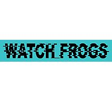 Watch_Frogs Photographic Print