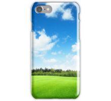 Green Land iPhone Case/Skin
