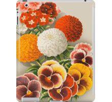 Pansies & Marigolds iPad Case/Skin