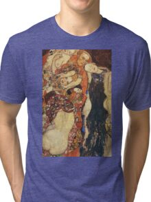 Gustav Klimt - The Bride (Unfinished), Detal 2 Tri-blend T-Shirt