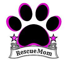 Rescue Mom Photographic Print
