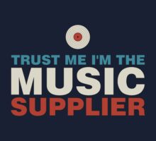 Music supplier colorful Kids Tee