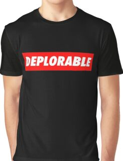 DEPLORABLE VINTAGE Graphic T-Shirt