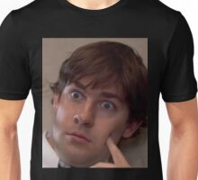 jim halpert face Unisex T-Shirt