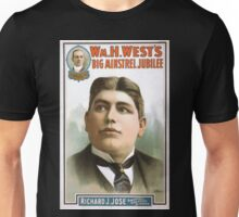Performing Arts Posters Wm H Wests Big Minstrel Jubilee 1784 Unisex T-Shirt