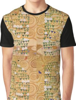 Gustav Klimt - Right Part Of The Tree Of Life 1909 Graphic T-Shirt