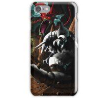 Pokemon! Aggron vs Gyarados iPhone Case/Skin
