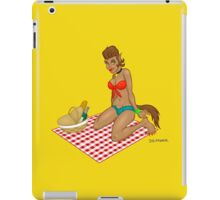 Lupe - a naughty werewolf monster pinup! iPad Case/Skin