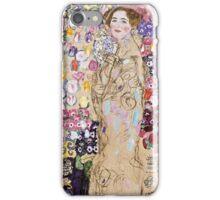 Gustav Klimt - Portrait Of Ria Munk (Unfinished), 1917  iPhone Case/Skin
